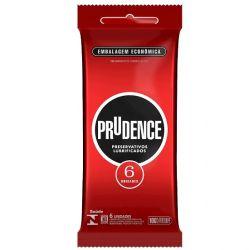 Preservativo Lubrificado com 6un Prudence - 02383