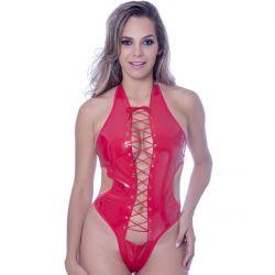 Kit Fantasia Body Vinil Vermelho - 02288V