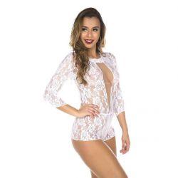 Macaquinho  Branco Princesa - 10809B