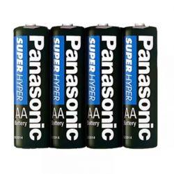 Pilha Panasonic Pequena AA com 4un - 004AA