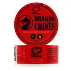 Pomada Excitante Unissex Dragão Chinês 7,5gr - 304420