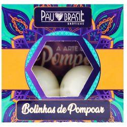 Kit  de Pompoar 02 Bolinha 3,5cm com Manual - 00777