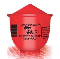 Vela Sorvete Quente Loka Sensação Sensaçao 25g - 00214S