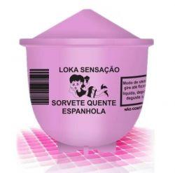 Vela Sorvete Quente Loka Sensação Espanhola 25g - 00214E