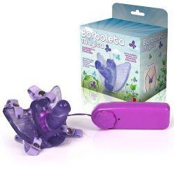 Borboleta Mágica - Butterfly Estimulador Feminino com Pênis - MAS07